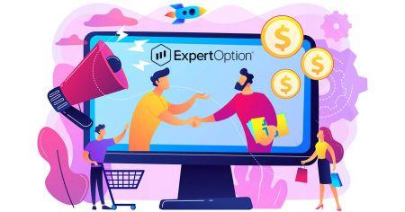 如何加入联盟计划并成为 ExpertOption 的合作伙伴