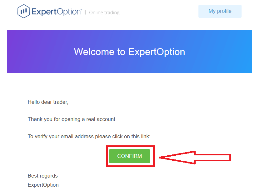 如何在 ExpertOption 注册和交易二元期权